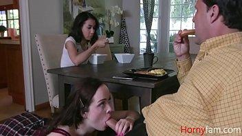 Old Dad Turns Evil And Uses Daughter- Aliya Brynn