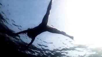 Supernatural: Sexy Bikini Girl Swimming