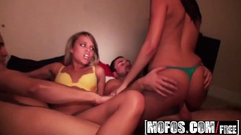 Mofos - Real Slut Party - Thanks-Giving Head starring  Kierstyn and Allexis Blow