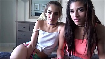 Latina Teens Fuck Landlord to Pay Rent - Sofie Reyez & Gia Valentina - Preview