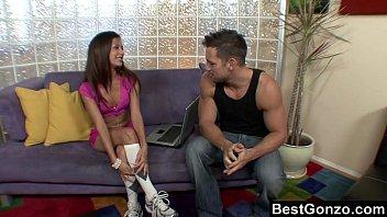 Ariana Fox entertaining her guest
