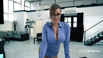 Busty Secretary Josephine Jackson Always Satisfies Her Boss - itsPOV