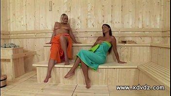 Zafira Klass Makes Sauna Day Amazing When She Stars Playing With Her Girlfriend