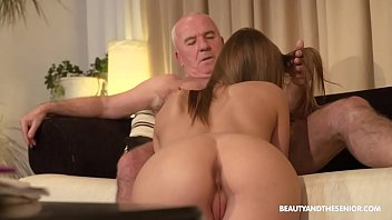 Old farmer gets horny and fucks his hot niece