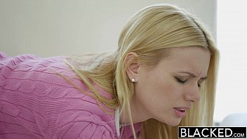 BLACKED Tiny Blonde Wife Kennedy Kressler Gets r. With a Big Black Cock
