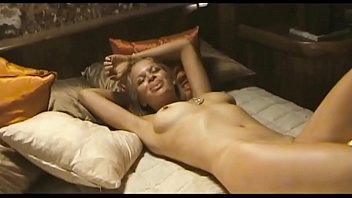 Group amateurs filming themselves with full frontal nudity and sex featuring Sian Breckin & Jaime Winstone in Donkey Punch (2008)