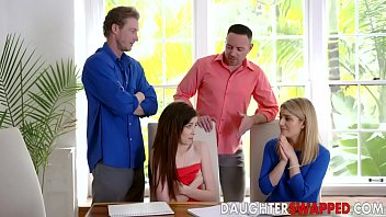Grae Stoke , Abby Adams In Dads Divide The Daughter Swap Equation