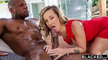 BLACKED She had enough white boys and needed a real man