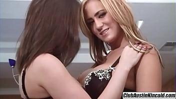 Trina Michaels cum swapping milf Austin Kincaid boyfriend threesome