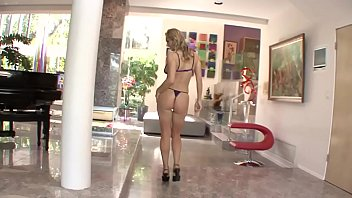 Tanya gets a young boy's dick in her warm buttocks