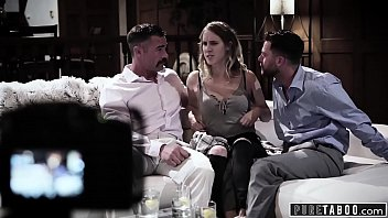 PURE TABOO Cadence has 3Some with Strangers!