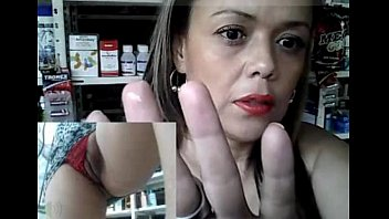 Horny milf working and masturbating at the pharmacy part 13 - getmyCam.com