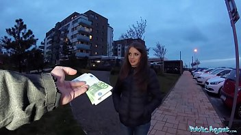 Public Agent Sexy shy Russian babe fucked by a stranger