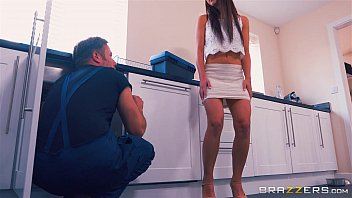 Brazzers - Mom helps her step daughter get some cock