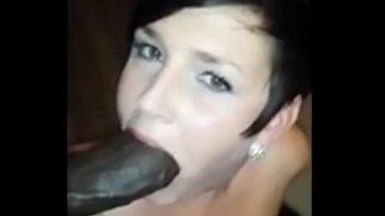 Amateur wife sucks fat bbc