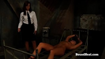 No Escape 2: Lesbian Slave Training Begins With Harsh Whipping