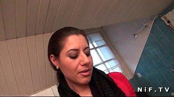 French arab mom in stockings hard fucked