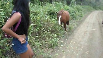 HEATHERDEEP.COM Thai Teen Peru to Ecuador horse cock to creampie