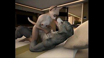 Cat Wolf Bedroom