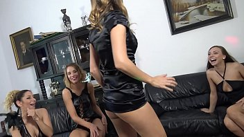 Hot tight pussy sluts upskirt house party with lots of atomic wedgies and panty play