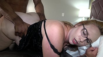 Thick White Wife Takes Massive Load From BBC