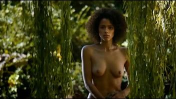 Nathalie Emmanuel GOT nude repeat